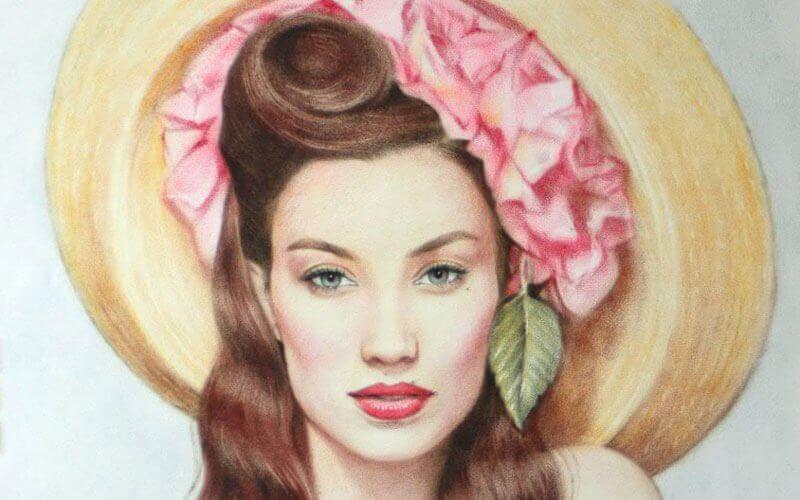 Портрет по фотографии пастелью