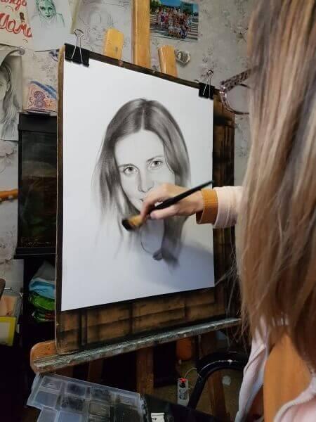 Основные элементы портрета