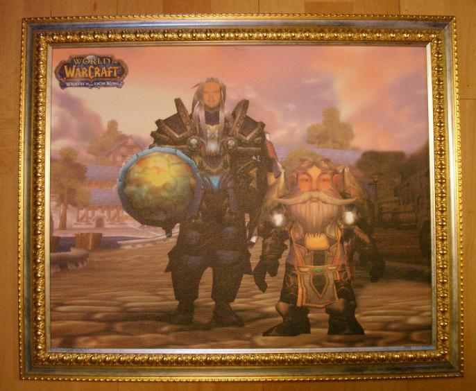 Фотомонтаж в героев Warcraft