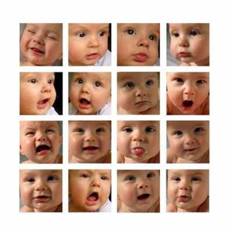 Коллаж из фото ребенку