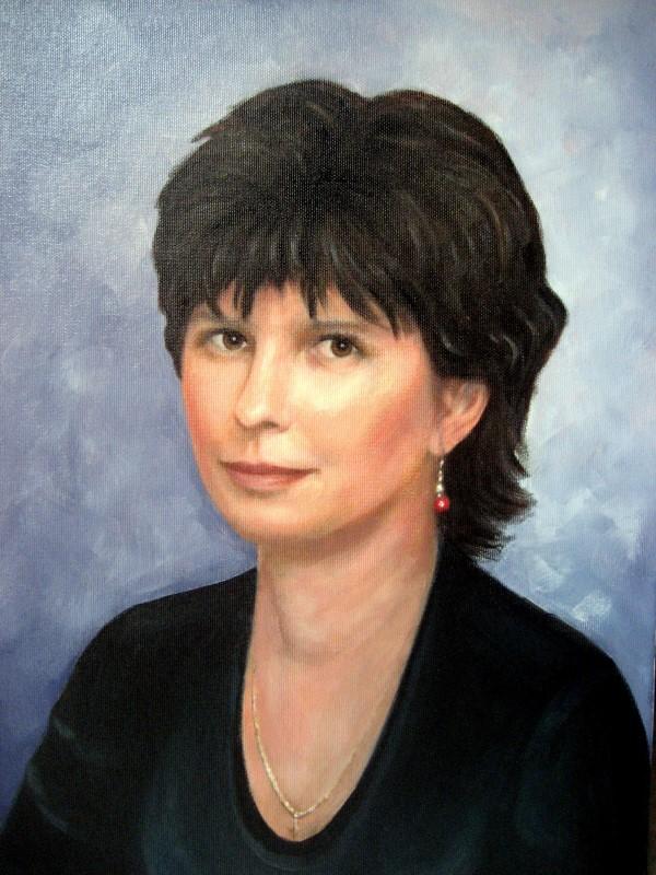 Портрет по фотографии маслом на холсте на заказ