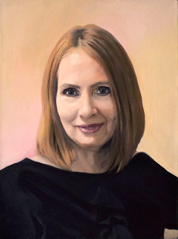 Женский портрет маслом на заказ