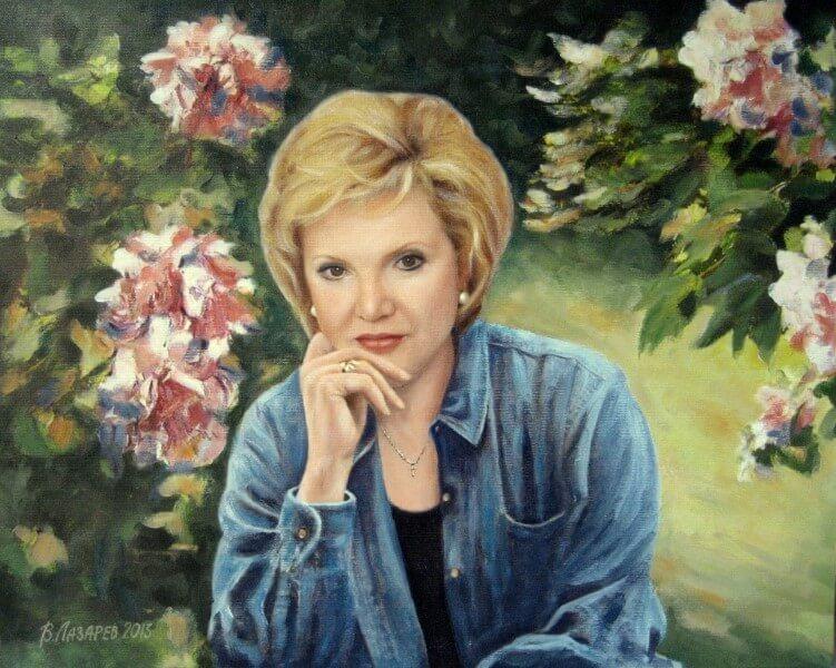 Портрет маслом на холсте на заказ