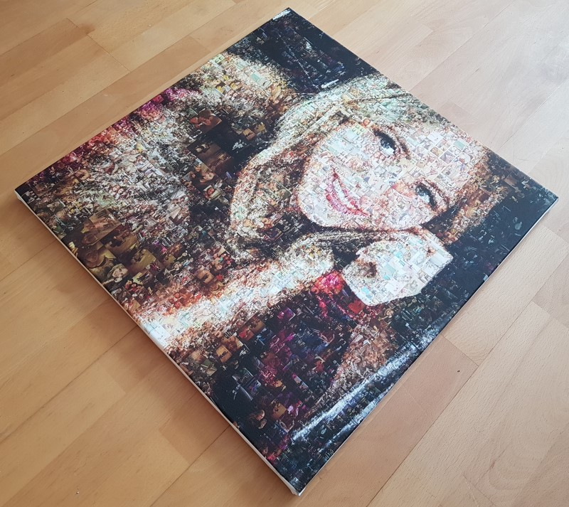 Портрет женский - мозаика