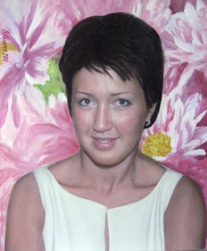 Портрет женщины, стилизация