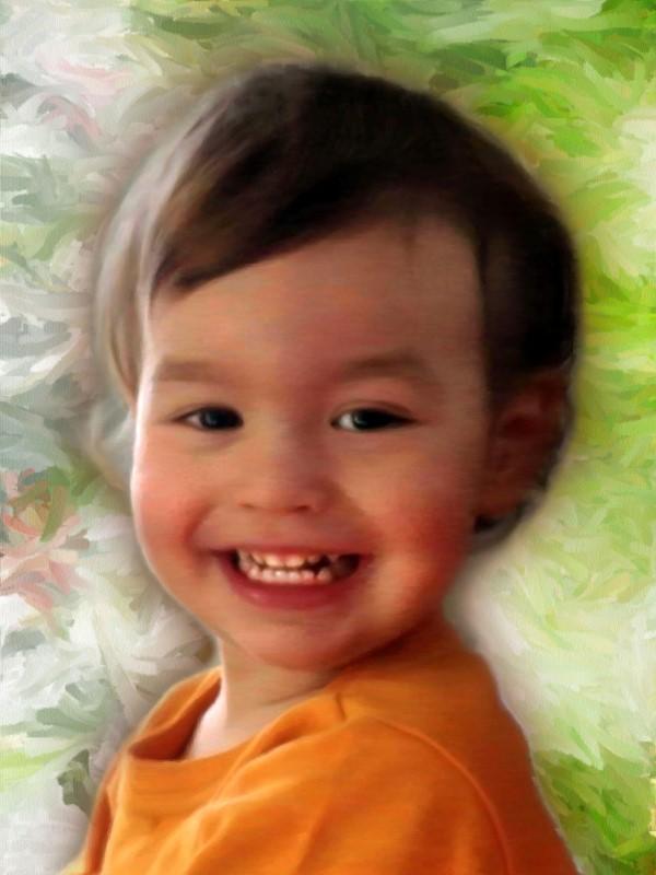 Портрет мальчика, стилизация