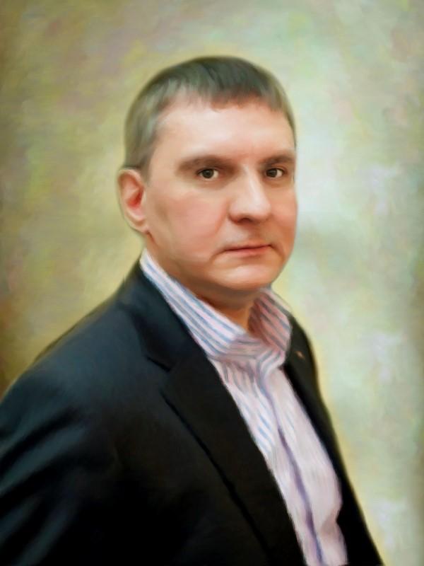 Мужской портрет, стилизация
