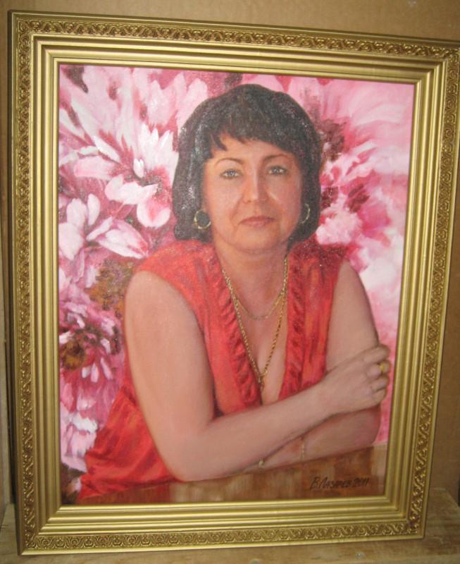 Женский портрет, стилизация