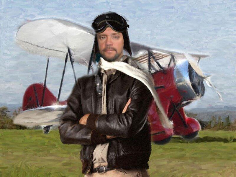 Портрет летчика