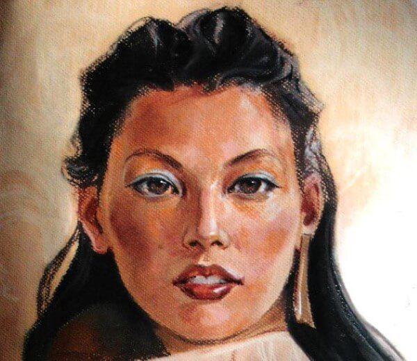 Портрет пастелью