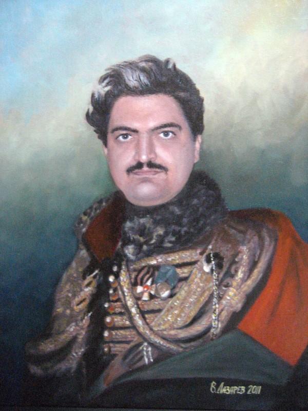Мужской портрет в образе